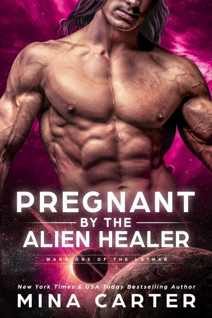 Book Cover: Pregnant by the Alien Healer