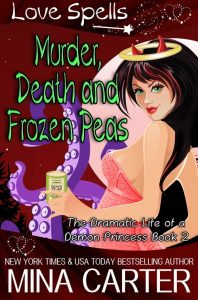 Book Cover: Murder, Death, and Frozen Peas