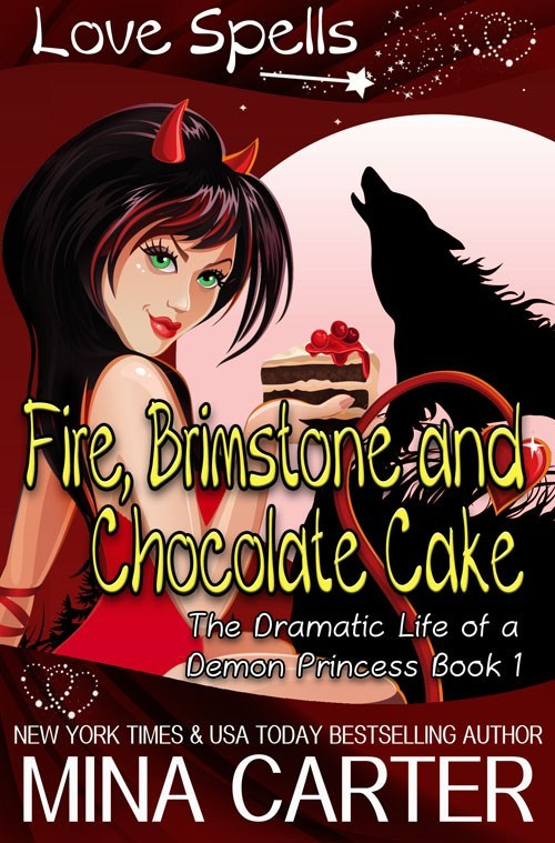 Book Cover: Fire, Brimstone, and Chocolate Cake