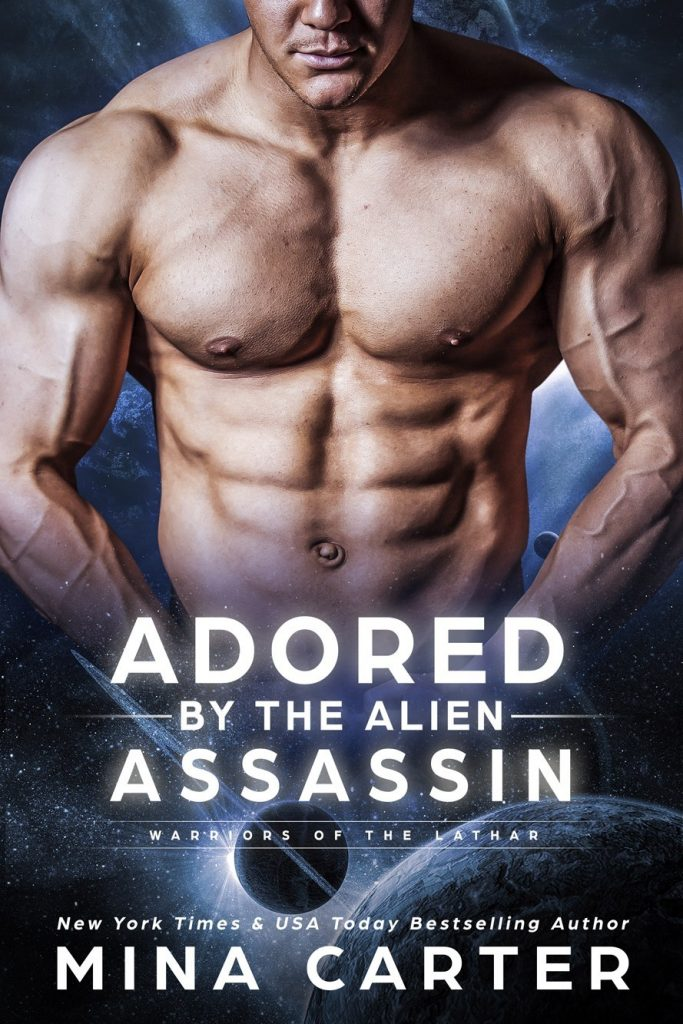 Book Cover: Adored by the Alien Assassin