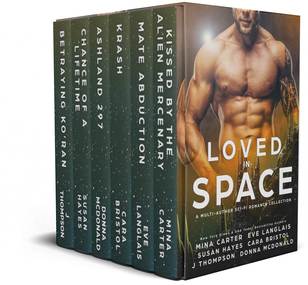 Book Cover: Loved in Space Anthology