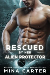 Book Cover: Rescued by her Alien Protector