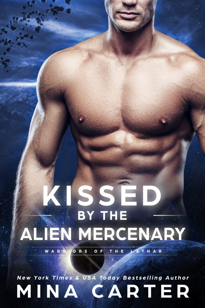 Book Cover: Kissed by the Alien Mercenary