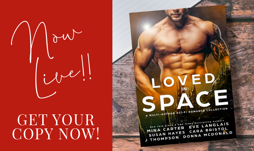 Loved in Space Book Release Announcement