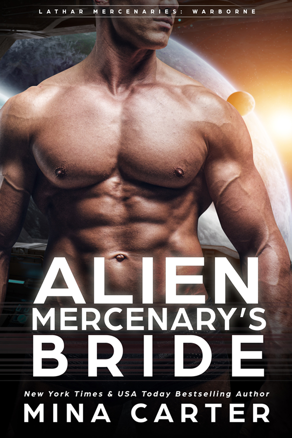Book Cover: Alien Mercenary's Bride