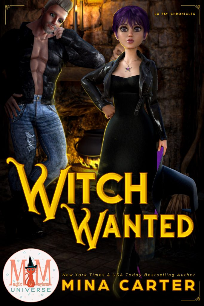 Book Cover: Witch Wanted