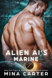 Book Cover: Alien AI's Marine