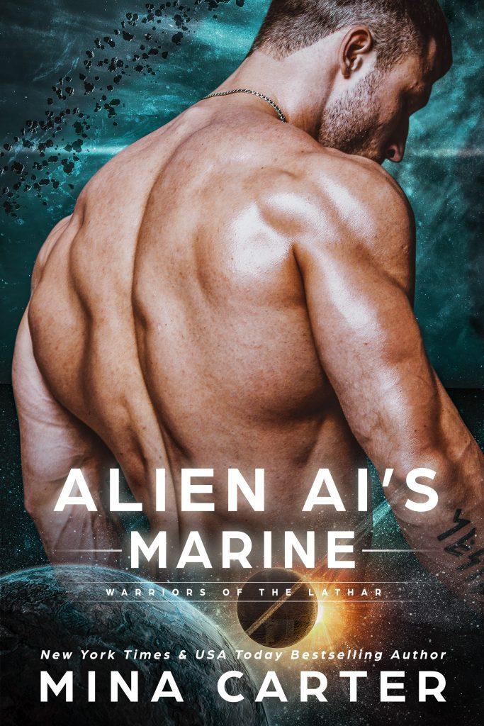Book Cover: Alien AI's Marine