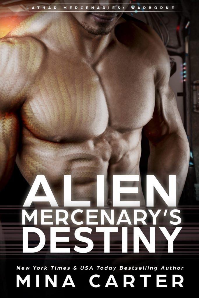 Book Cover: Alien Mercenary's Destiny